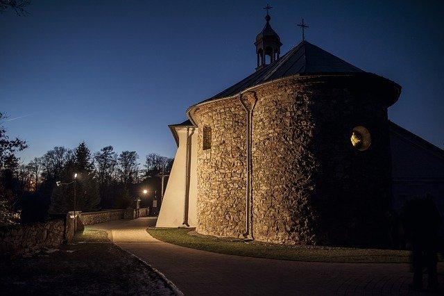 kostel v Polsku