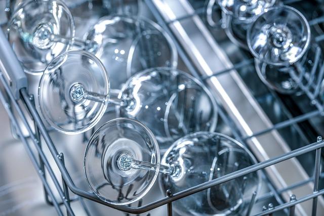 skleničky v myčce