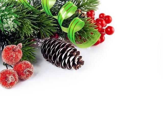 vánoční větvička