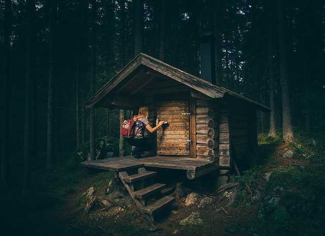 přírodní dřevostavba